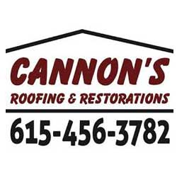 Cannon's Roofing & restoration